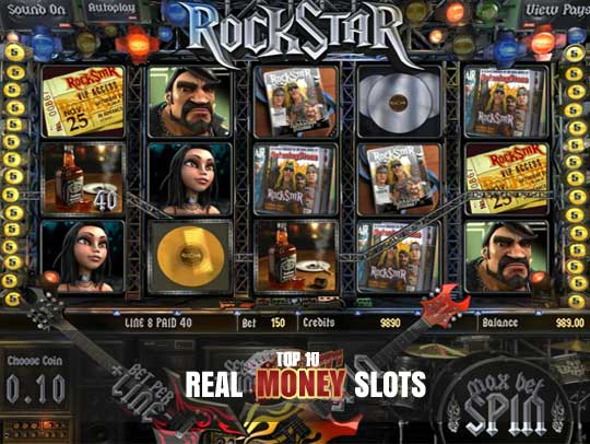 online real casino slot book